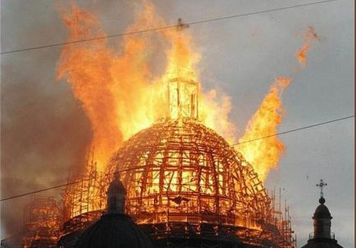 Прокуратура посчитала новые поджоги церквей в Татарстане терактами