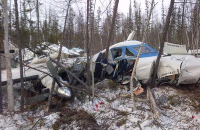 Пассажирский самолет разбился около эвенкийского села в Хабаровском крае
