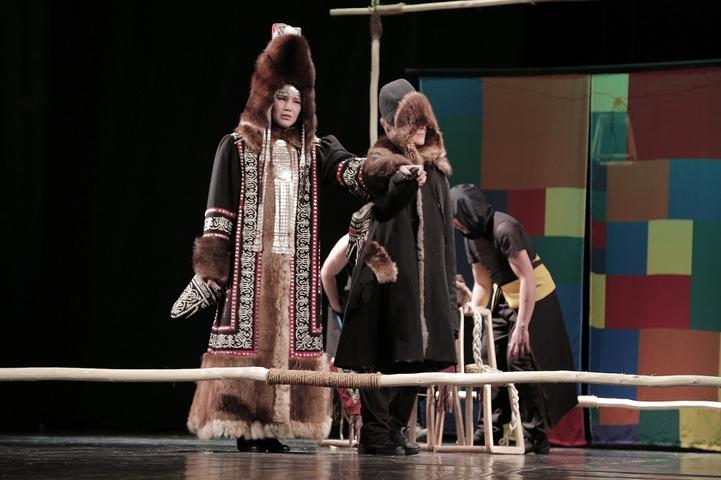 Спектакль о девушке-богатыре поставил театр Олонхо