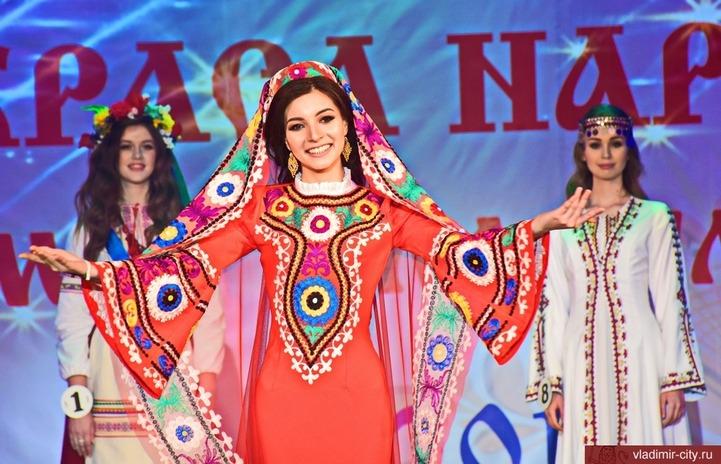 Самой красивой девушкой Владимира признана представительница Таджикистана