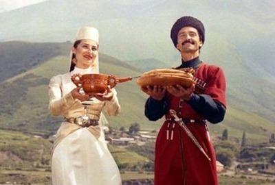 Жители Северной Осетии отмечают национальный праздник Уацилла