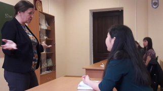 В Иркутске студенты встретились с основателем Гильдии межэтнической журналистики