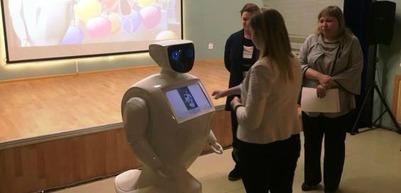 Чукотский робот Ылгытумгытум стал сотрудником музея в Билибино