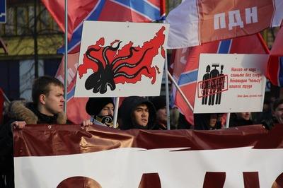 Националисты подали заявки на шествие с требованием депортации мигрантов