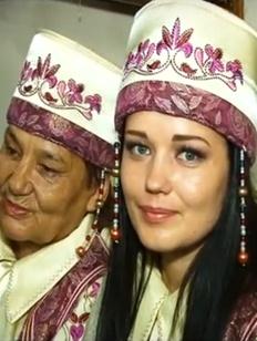 В Саяногорске хакасские женщины почтили Богиню Ымай