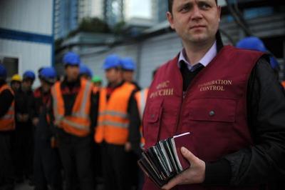 Мобильные отряды ФМС проверят мигрантов на улицах Москвы