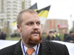 """Лидер """"Русских"""" потребовал извинений и 2 млн рублей за незаконное преследование"""