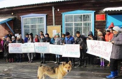 Селяне Амурской области попросили Путина освободить эвенкийского лидера