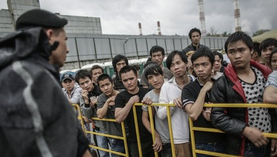 Московские власти усомнились в целесообразности акции трудовых мигрантов