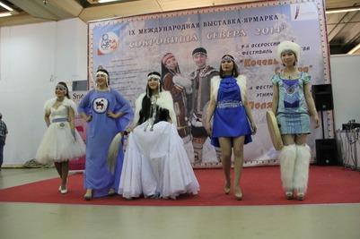 """Фестиваль этнической моды """"Полярный стиль-2014"""""""
