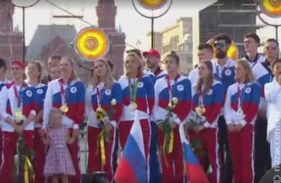 Национальный пьедестал на Олимпиаде
