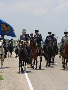 Конный переход казаков пройдет в Ставропольском крае