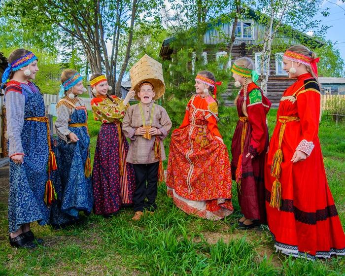 Детский ансамбль Удорского района Республики Коми