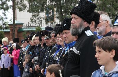 Казаки в Чечне