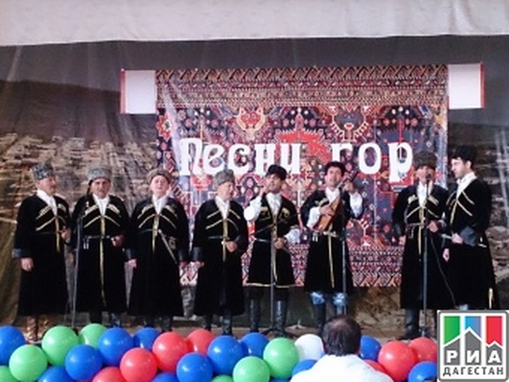 """Фестиваль  """"Песни гор"""" прошел в Дагестане"""
