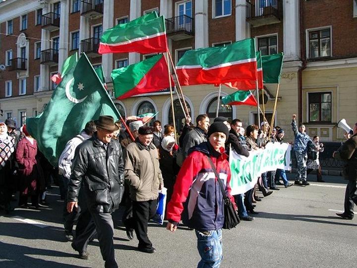 Штаб татарских националистов выселяют из центра Казани