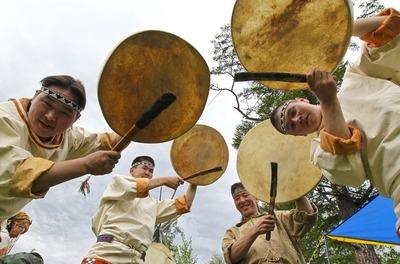 Камчатские эвены встретили Новый год