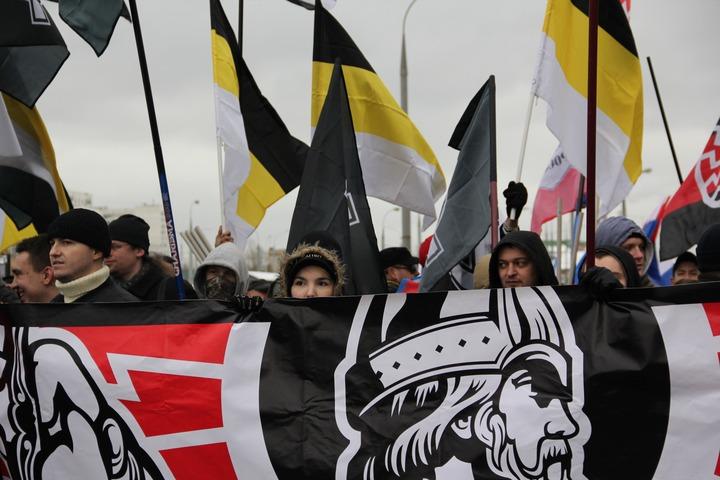 """На """"Русском марше"""" в Москве задержали семь человек"""