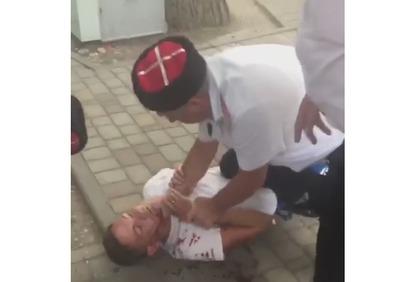 Кровавыми побоями закончилась в Геленджике ссора казаков с отдыхающими