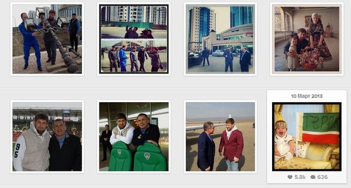 Рамзан Кадыров стал самым популярным блогером