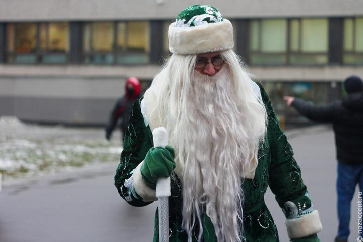 Межнациональное новогоднее поздравление устроили для детей в Югре