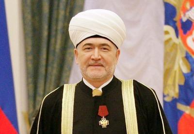 Главу Совета муфтиев России наградили орденом за укрепление межнационального мира