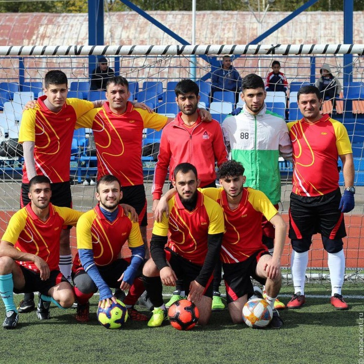 Турнир по футболу среди езидов впервые прошел в Тамбове