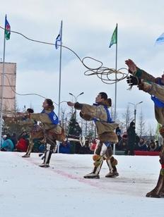 На Таймыре прошел Чемпионат России по северному многоборью