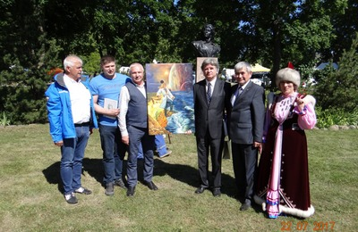 В Эстонии установили памятник башкирскому герою Салавату Юлаеву