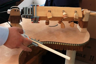 Якутские школьники собрали робооркестр национальных инструментов