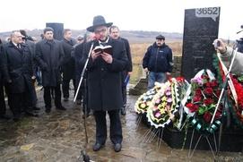 В Крыму вспомнили расстрелянных нацистами евреев и крымчаков