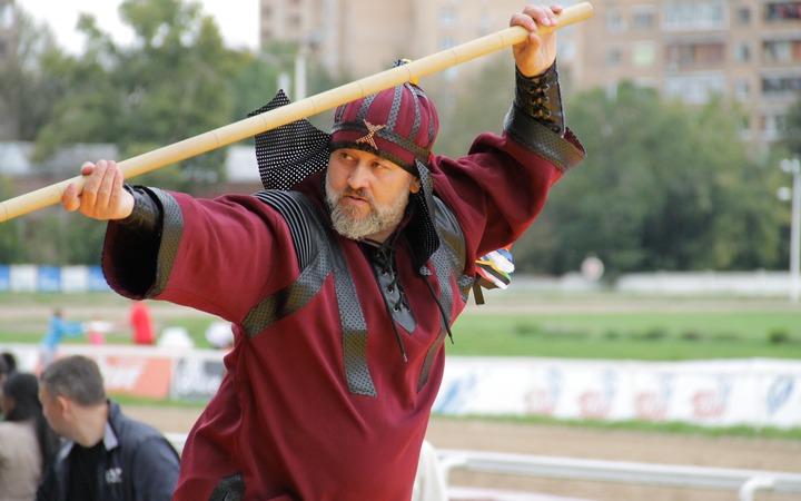 Фестиваль этнических видов спорта в День Москвы