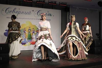 В Коми прошел первый фестиваль этномоды