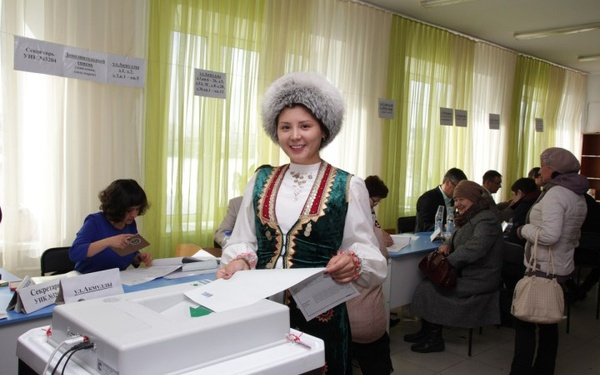 Выборы в национальных тонах
