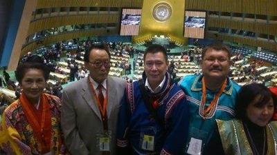 Представители российских коренных народов приняли участие в конференции ООН