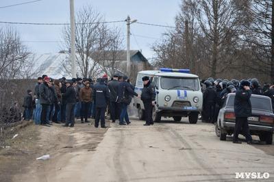 Цыгане лишили тульский поселок газа и забросали рабочих камнями