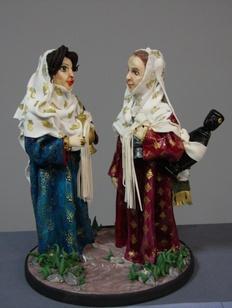 В Дагестане показали коллекцию фигурок горцев из марципана
