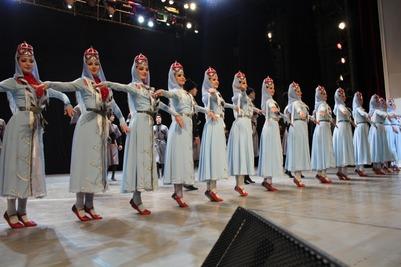 В Моздоке выступили лучшие кавказские танцоры