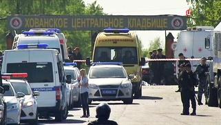 Задержанных на Хованском кладбище нелегалов депортируют из России