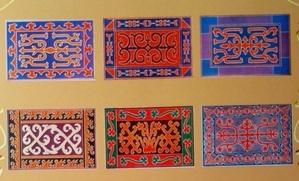 Книжку-раскраску о традиционных войлочных коврах выпустили в Ингушетии