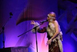 """Чукотская певица взяла приз зрительских симпатий на """"Этническом Евровидении"""" в Италии"""
