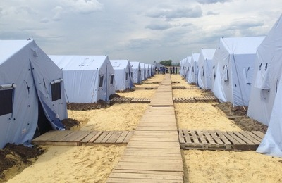 В России остались работать 252 пункта размещения для беженцев