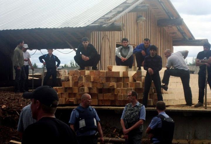 Демьяново: МВД признало оружие у дагестанцев, но не признало наличие раненых