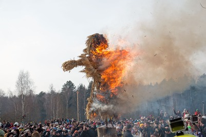 Среди главных событий месяца россияне назвали Масленицу