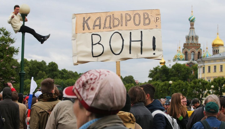 Митинг против моста Кадырова назвали античеченским