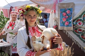 День защиты детей в Москве отметят в национальном стиле
