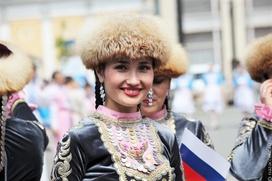 Парад дружбы народов России 2017