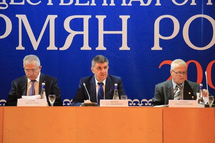 Союз армян России переизбрал прежнего президента на новый срок