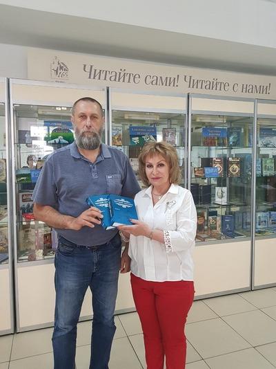 Ставропольский атаман подарил библиотеке переизданные дореволюционные работы о казачестве