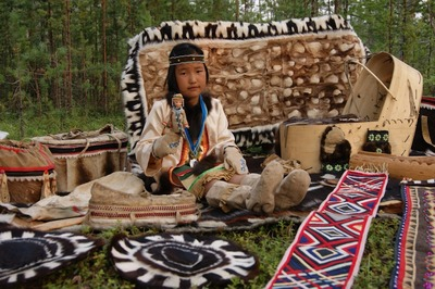Уникальный альбом об узорах и фольклоре северных народов выйдет на Таймыре